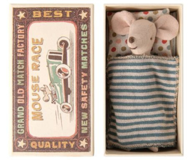 Maileg Big brother mouse in matchbox 16-0733-01 Nieuw!