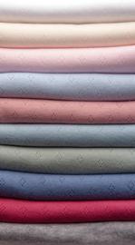 Pointelle Fine Cotton Jersey ECO 1250