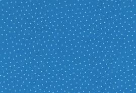 Westfalen Babycord Gestipt Blauw Wit Oeko-Tex