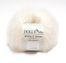 "DollyMo ""Woolly Mohair""  6011 ""Snow White"" New!"