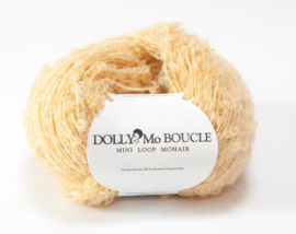 "DollyMo Mini mohair bouclé ""Honey Blonde"" no. 8008"