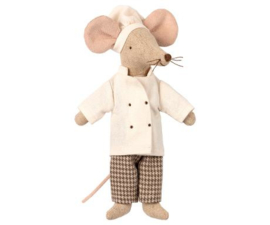 "Maileg Upstairs and Downstairs ""Chef Mouse"" Nieuw!"