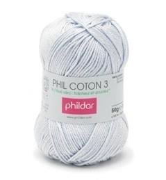 Phildar Coton 3 Ciel