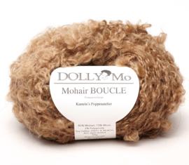 "DollyMo Mohair Bouclé ""Golden Brown"" nr. 7012 Nieuw!"