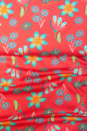 Stenzo Printed Summer flowers Jersey New!
