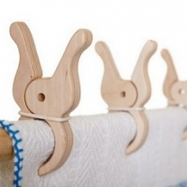Wooden Giant Play Pegs (per pair)