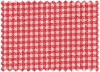 Westfalen Cotton Geruit Rood Wit