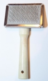 Slicker Brush Wood (small)