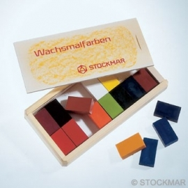 Stockmar Beewax Blocks 16 Colors