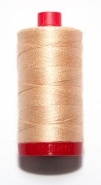 "Aurifil Mako NE12 no. 2315 / 325 meters ""Pale Flesh"" Oeko Tex  New!"
