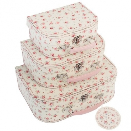 Le Petite Rose Suitcase Set (Set of 3)