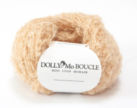 "DollyMo Mini mohair bouclé ""Strawberry Blonde"" nr. 2002"