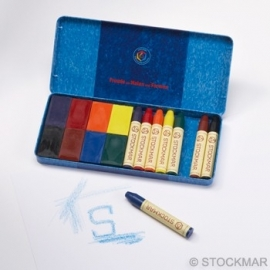 Stockmar Beewax Crayons & Beewax Blocks 2 x 8 Colors