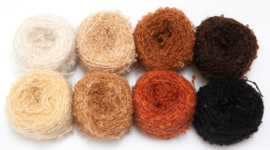 Mix pack DollyMo Mini mohair bouclé 8 x 30 grams New!
