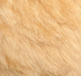 "Mohair Fur Fabric Steiff Schulte ""Golden Blonde"""