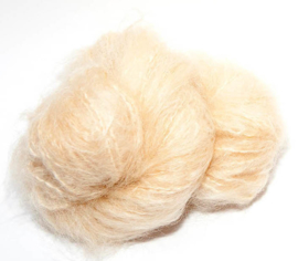 "DollyMo ""WOOLLY Mohair""  Natural Blonde NR. 6001"