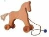 Wooden Pull Horse