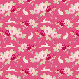 Rabbit & Roses Pink Tilda