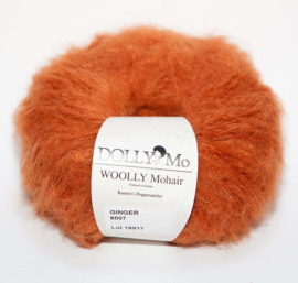 "DollyMo ""WOOLLY Mohair""  6007 Ginger"