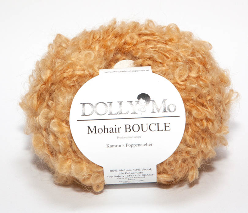 "DollyMo Mohair Bouclé ""Wheat"" nr. 7011"