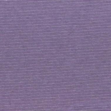 Jersey Katoen Fijn Gestreept lila/grijs