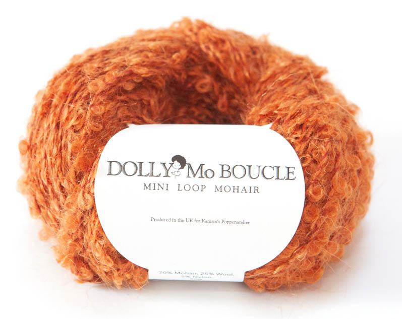"""DollyMo Mini mohair bouclé  """"Ginger"""". nr. 8005"""