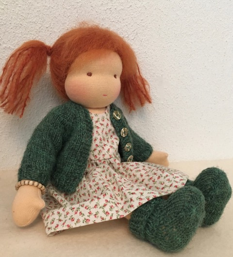 Puppe Loesje nr. 1752/30 cm Neu!