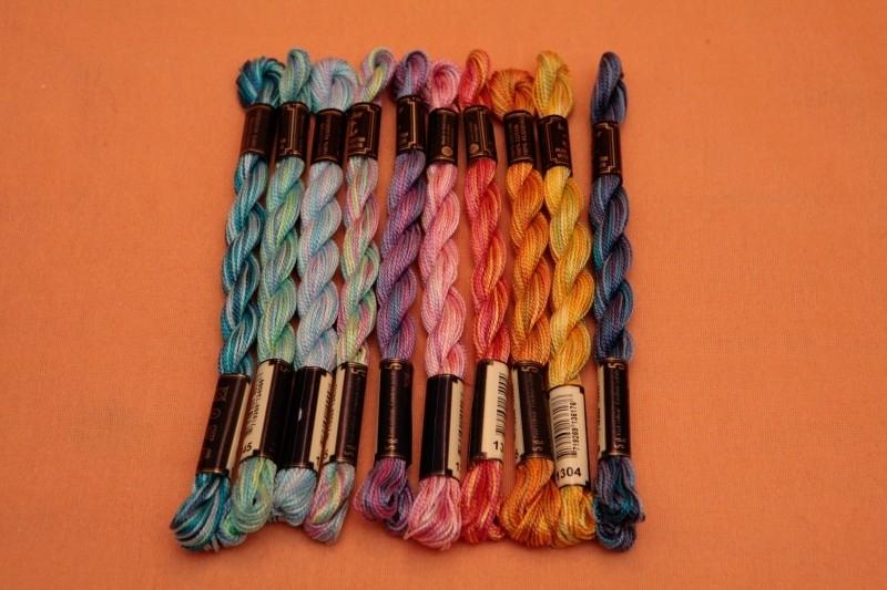 Anchor Borduurgaren / Perlé Multicolor