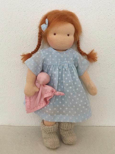 "Doll ""Miesje"" 30 cm nr. 1729 New!"