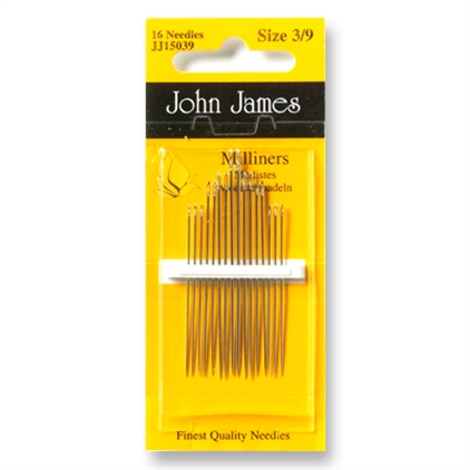 John James Milliners 3/9 Naalden JJ15039