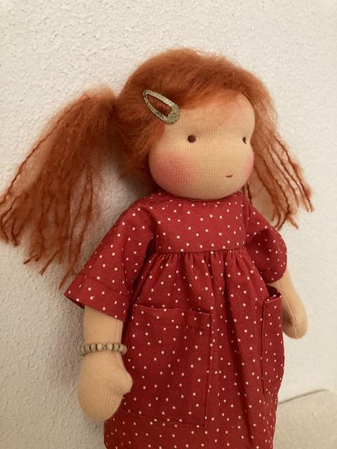 Puppe Robin nr. 1752/30 cm Neu!