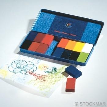 Stockmar Beewax Blocks 16 Colors