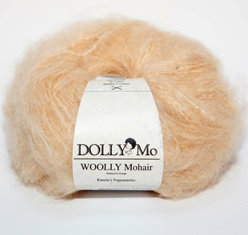 "DollyMo ""Woolly"" Mohair 6002 Strawberry Blonde"