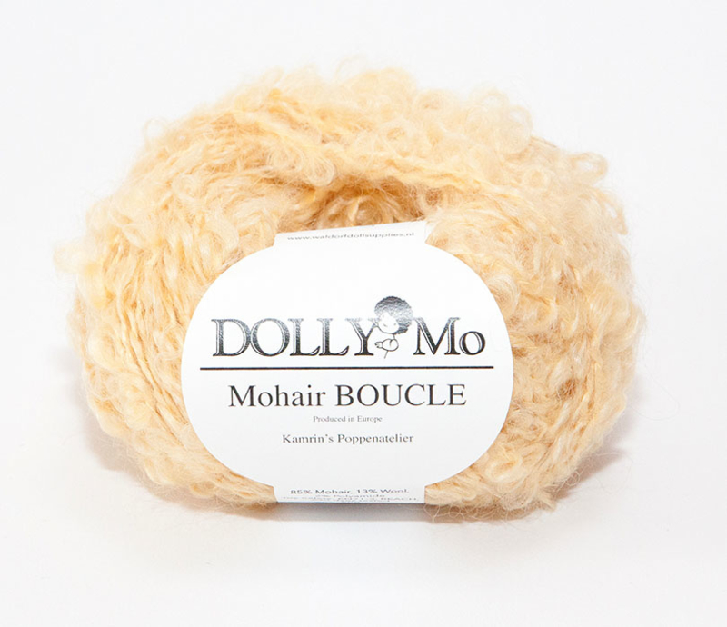"DollyMo Mohair Bouclé ""Honey Blonde"" nr. 7001"