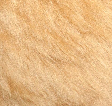 "Mohair Fur Fabric Steiff Schulte nr. 4102 ""Goud Blond"""