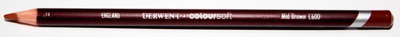 Derwent Colorsoft Kleurpotlood Bruin C600