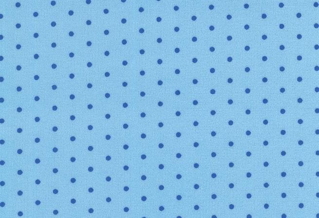 Westfalen Velour Nicki Gestipt Lichtblauw Blauw