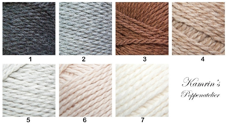 Toft DK Yarn in 7 Kleuren