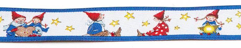 "Sierband ""Pippa & Pelle onder de sterren"" Band 16 mm"