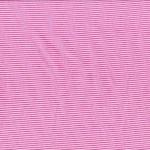 "Katoenen Jersey Fijn Gestreept ""Roze Wit"""