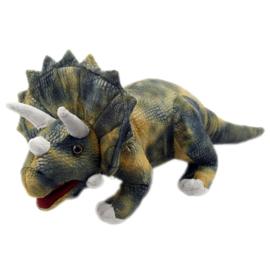 Triceratops (large) dinosaurus handpop