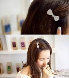 Haarklemmetjes strik