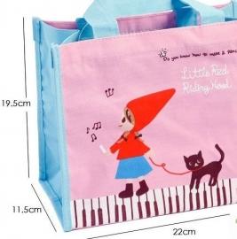 Boodschappentasje voor kinderen - schattig! Roodkapje