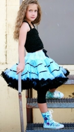 Ribbon Pettiskirt Blue