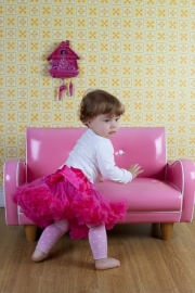 Pettiskirts Hot Pink : 80 - 90 - 120