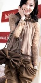 Klassieke stijlvolle blouse