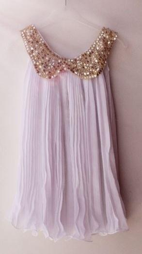 Prinsessenjurk: kleur WIT