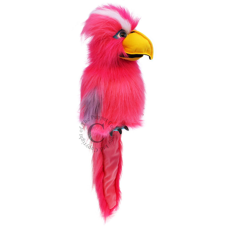 Pink Galah Handpop