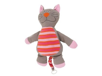 XL muziekknuffel Kat - Music Cuddle Cat XL