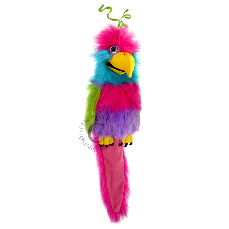 Bird of paradise Handpop